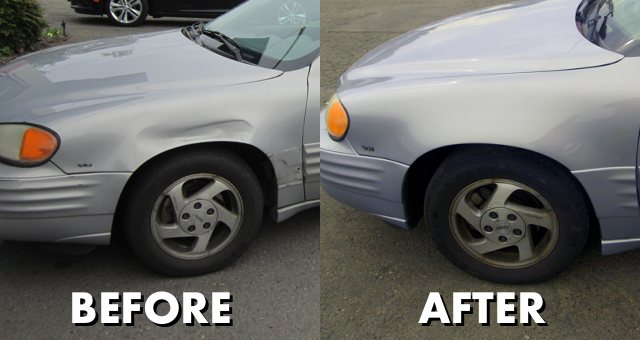 before after pontiac